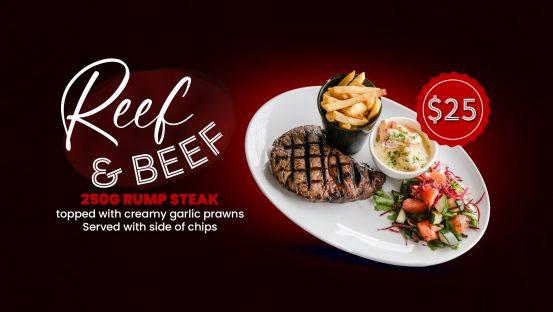 Reef & Beef Fridays