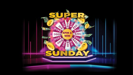 Super Sunday Spin & Win