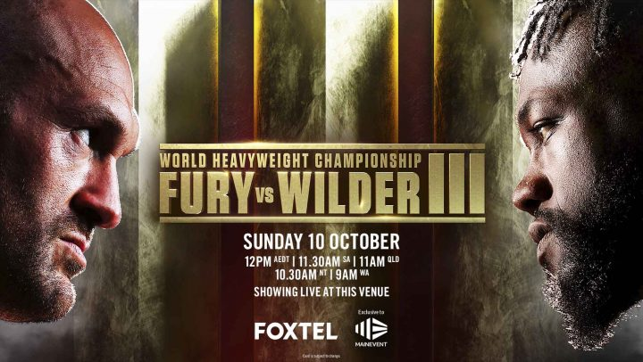 Fury v Wilder III